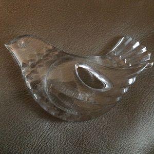 Mikasa Crystal Dove Ornament Joyous Collection